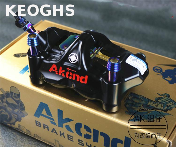Keoghs Akcnd Gp4 Rx Motorcycle Brake Caliper Racing Radial Caliper Kit Gp4-rx Pinzas Freno Radiales 100mm рено сценик rx 4 в мурманске