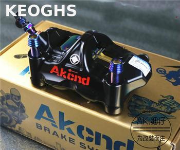 Keoghs-pinza de Freno para motocicleta Akcnd Gp4 Rx, Kit de pinza Radial de carreras, Gp4-rx, 100mm