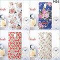 Бесплатная доставка мода ретро китайском стиле цветок жесткого пластика PC световой чехол для Xiaomi M 4 MI4 M4 MI 4 с коробка