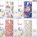 Free shipping Fashion Retro Chinese Style Flower Hard Plastic PC Luminous Case cover for Xiaomi M 4 MI4 M4 MI 4 with retail box
