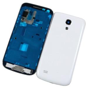 Image 2 - Mới Toàn Bộ Dành Cho Samsung Galaxy Samsung Galaxy S4 Mini I9190 I9192 I9195 Vỏ Ốp Lưng Trung Khung + Ốp Lưng + Dán kính Cường Lực Mặt Trước + Keo + Dụng Cụ