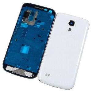 Image 2 - Yeni Tam Set Samsung Galaxy S4 mini i9190 i9192 i9195 Konut Case + Orta Çerçeve + arka kapak + Ön cam + Yapıştırıcı + Araçları