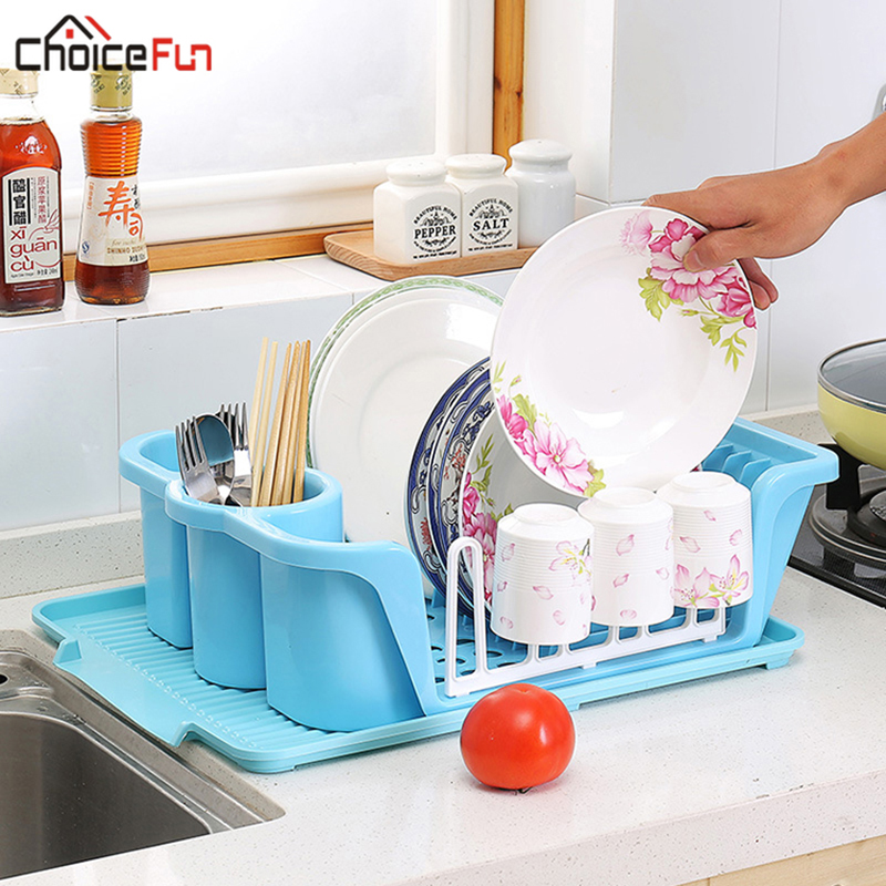 Baoblaze Dish Rack Stainless Steel Folding Drying Rack 2-Tier Dish Drainer Plate Organizer for Indoors Outdoors Use