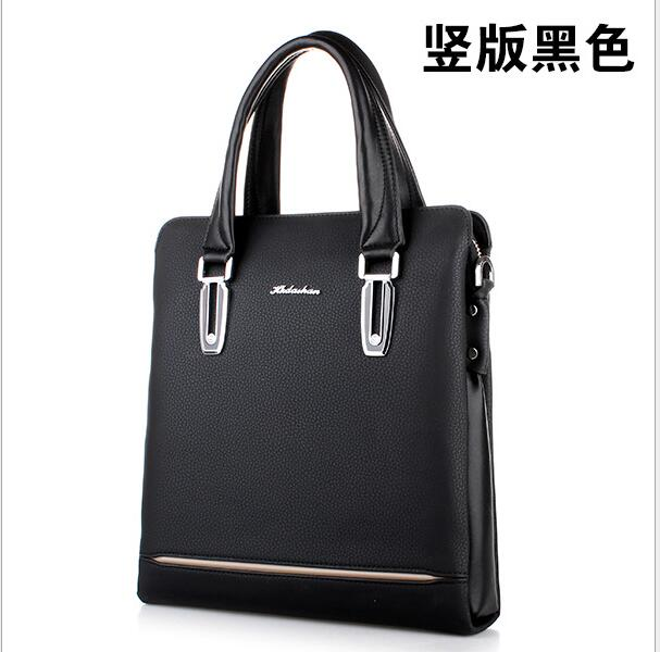 HK dashan 2016 men's breifcase handbags classic pu leather fashion dress brand business man's shoulder bags crossbody bags men 3colors hk dashan brand men s briefcase high quality pu leather business man 15 laptop handbags black fashion casual male bags