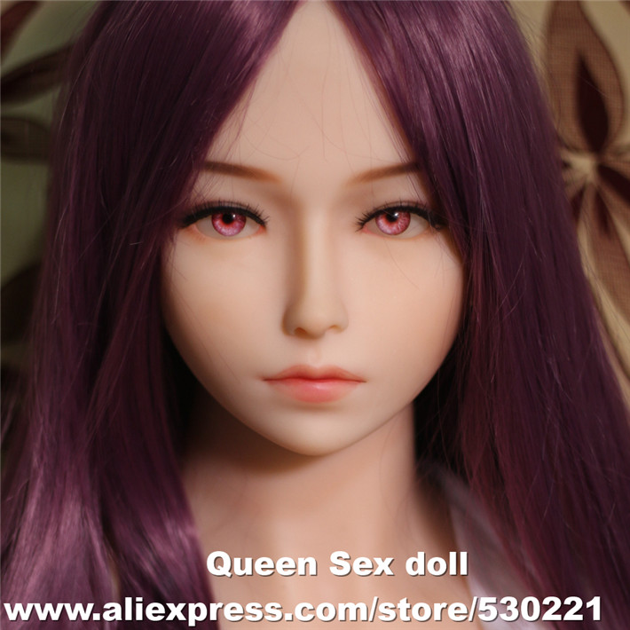 WMDOLL Top Quality Head For Silicone Reborn Sex Dolls Japanese Real Doll Heads Oral Sexy Toy For Men