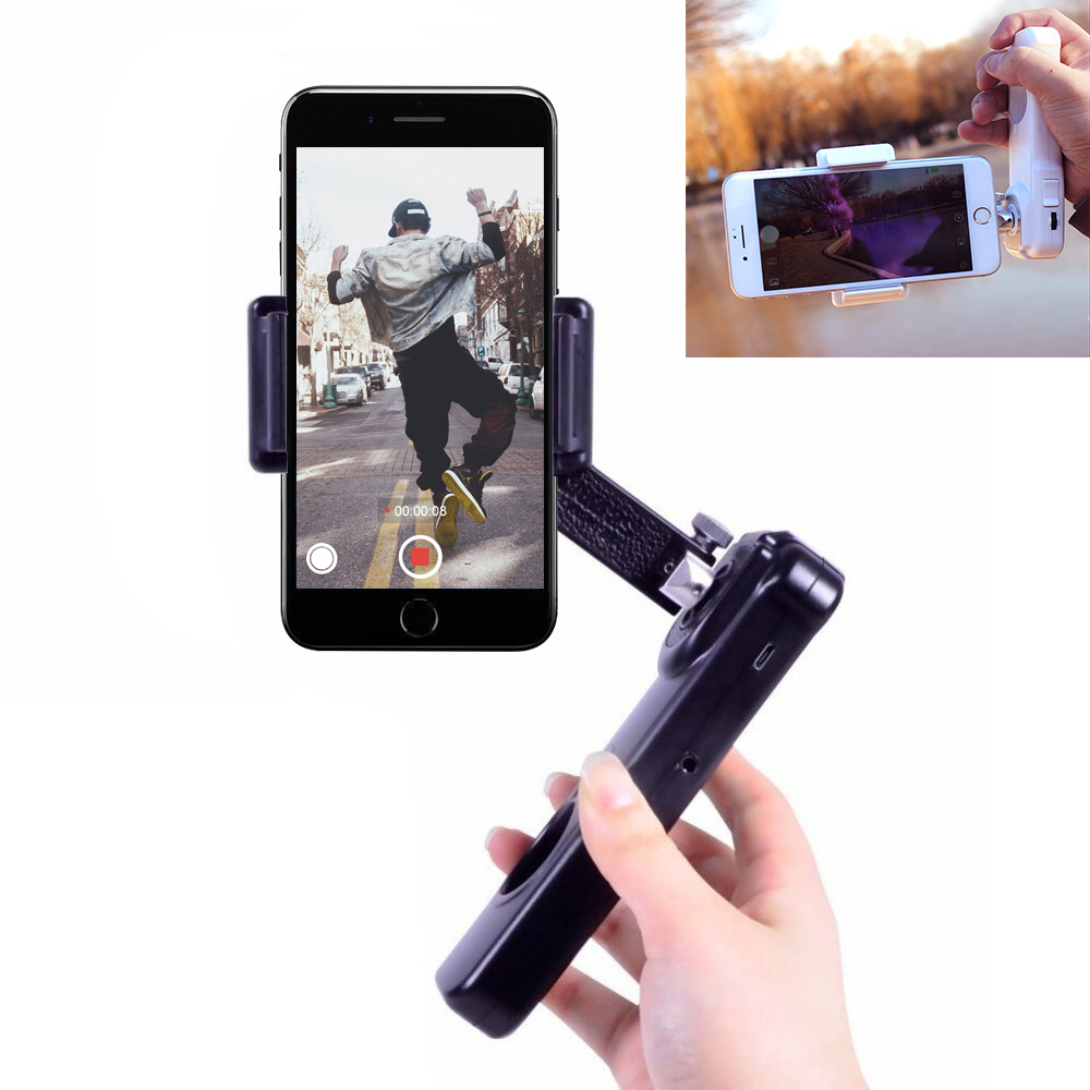 Ulanzi Sight2s Bluetooth Smartphone Gimbal Handheld Video Stabilizer Steadycam for iPhone Samsung Gopro 6 5 xiaoyi Action Camera x cam sight2 2 axis smartphone handheld stabilizer mobile phone brushless gimbal with bluetooth for iphone samsung xiaomi nexus
