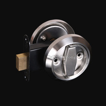 NEW 304 Stainless Steel Cup Handle Recessed Door Handles Cabinet Invisible Pull Handle Fire Proof Set Disk Ring Lock