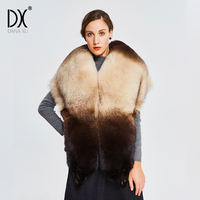 Winter Cold Weather Faux Fox Fur Pashmina Super Large Wraps Bride Faux fur Shawl Luxurious Warm Fur Scarf Fur Stole Women Scarf