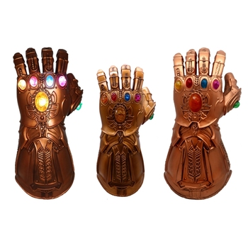 2019 Thanos Infinity Gauntlet Avengers Infinity War Gloves Cosplay Superhero Avengers Thanos Latex Glove Halloween Party Props