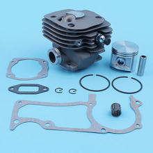 50MM Cylinder Piston Ring Kit w/Decompression Valve Gasket Set fit HUSQVARNA 365 362 371 372 XP 371K Jonsered 2165 2171 Chainsaw все цены