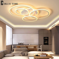 Original Design Modern LED Chandeliers For Bedroom Kitchen Dining room Living Room Creative White&Coffee Frame LED Chandeliers