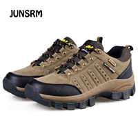 JUNSRM Men's Safety Shoes Work Shoes Outdoor Sneakers Shoes Breathable Work Boots Shoes DB026