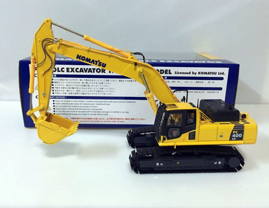 Rare!!! Komatsu PC400LC Excavator SAA6D125E-5 1/50 Scale Die-Cast Model * NEW* lc 1 pc 1838
