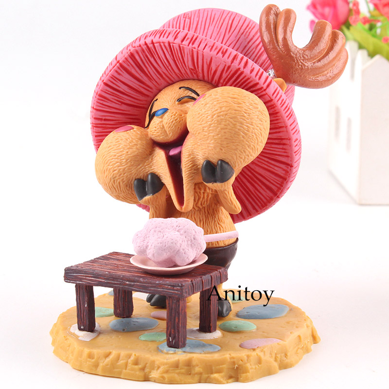 One Piece Onepiece Tony Tony Chopper Happy Ver. PVC Anime Action Figure Collection Model Toys for Boys Girls