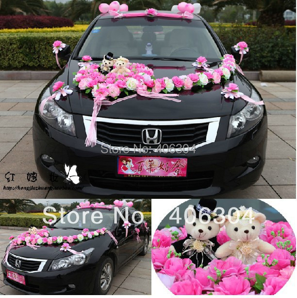 Where to buy wedding car decorations choice image wedding free shipping by ems1 setlotwedding car decoration set redpink simple car decoration for wedding gallery wedding decoration ideas junglespirit