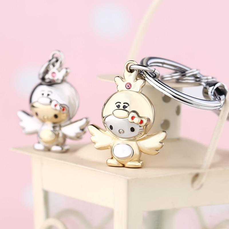 KT - 2017 Brand Slatka Chickabiddy Crtani pileći privjesak za - Modni nakit