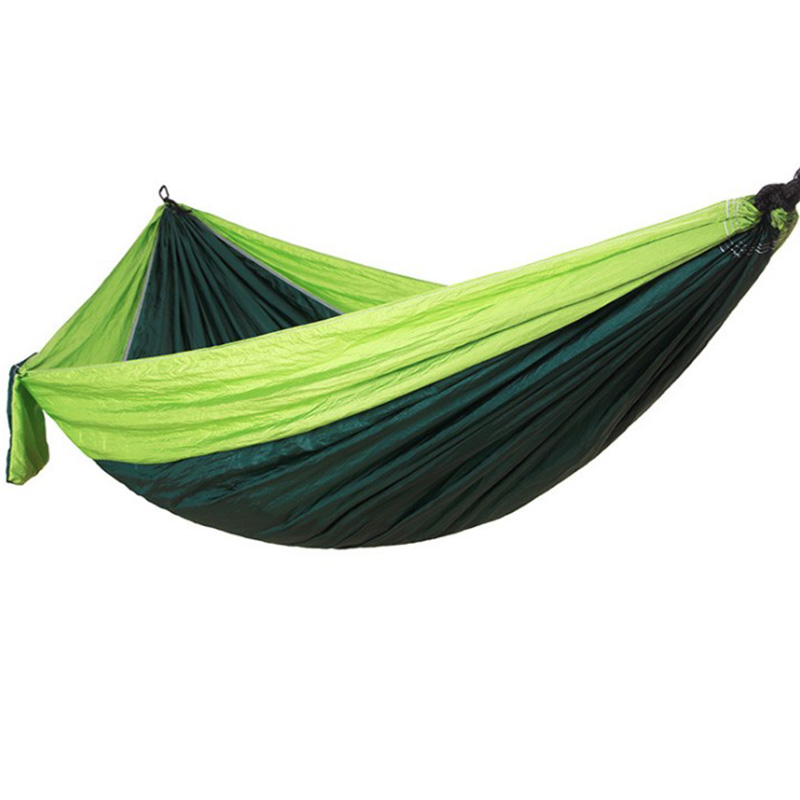 Outdoor Hammock nylon Parachute Cloth Hammock Leisure Swing Hanging Sheets People Double Camping Riding Indoor