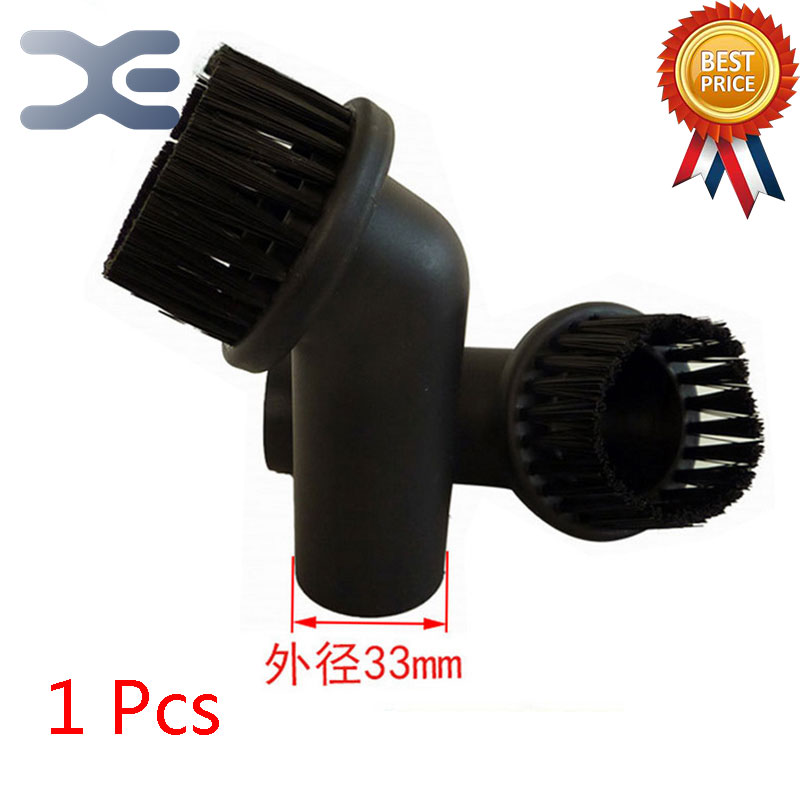 Adaptation For Panasonic Vacuum Cleaner Accessories Small Suction Head PP Hair Round Brush Interface Diameter 33mm Brush