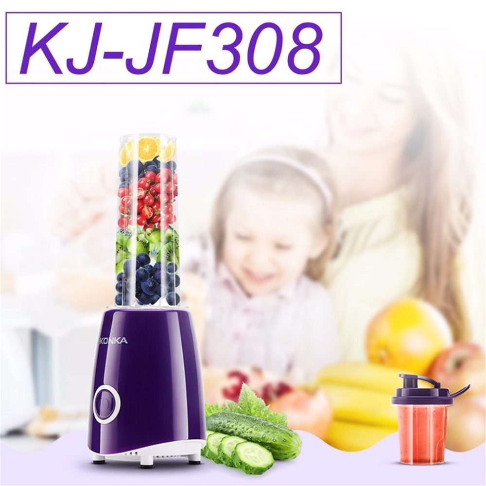 KONKA Electric Juicer Multi Use Fruit Juicer Squeezer Household Fruit Juice Machine Blender Smoothie Milkshake Maker KJ-JF308