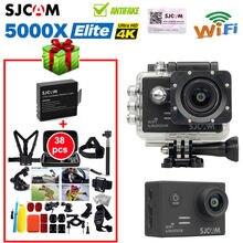 SJCAM SJ5000X Elite 4K 24 fps 2.0″ LCD Screen waterproof WiFi Action Camera Adjustable lens +extra battery +38in1 Accessories