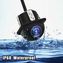2018 New Waterproof 20mm Drilled Camera Rear View LED Night Vision Reversing Car HD Parking
