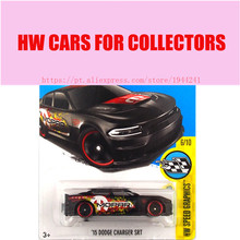 New Arrivals 2017 Hot Wheels 1:64 Black 15 Dodge Charger SRT Metal Diecast Cars Collection Kids Toys Vehicle For Children