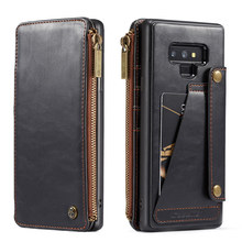 Note9 Case For Samsung Galaxy Note 9 Leather Case Card Holder Stand Book Flip Cover For Galaxy Samsung Note 9 Wallet Case etui