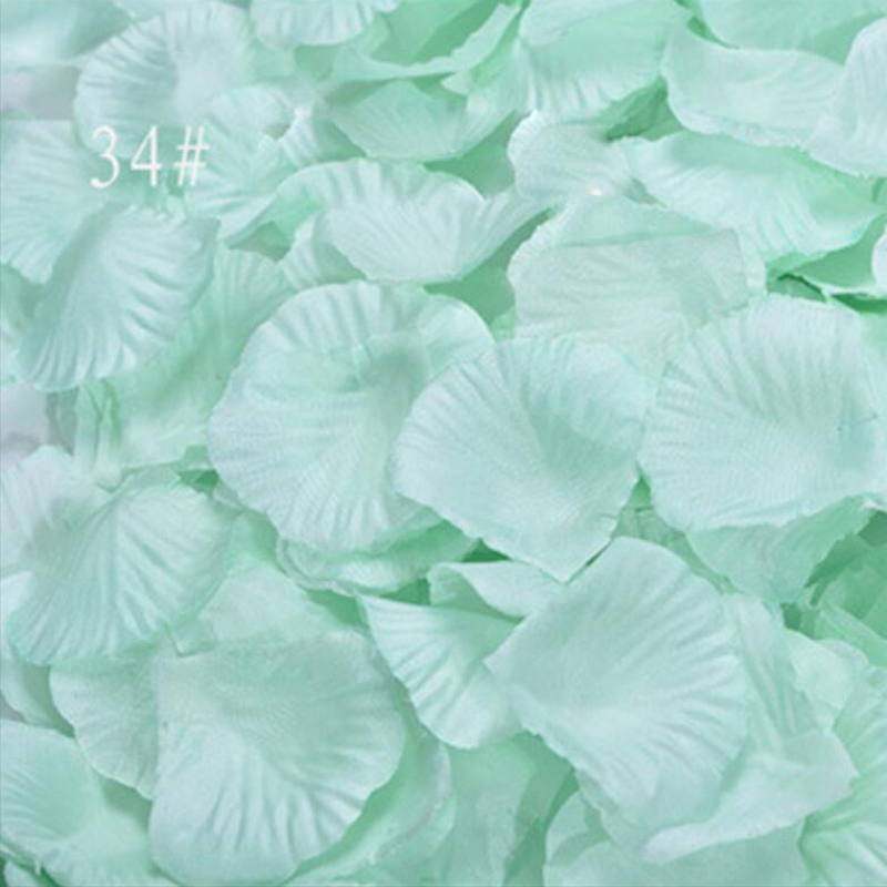 3000pcs/Lot Silk Rose Artificial Flowers Bride Wedding Decoration Petals Table Flowers Bachelorette Party Decoration Mariage