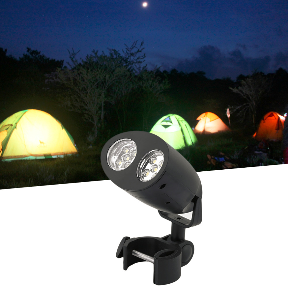 Super Bright Adjustable 10 LED BBQ Grill Barbecue Light Outdoor Handle Mount Clip Camp Lights Waterproof Heat Resistance Lamp