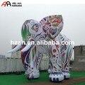 Гигантский надувной мультяшный цветной надувной слон