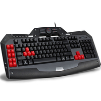 NEW Delux T15SU USB wired gaming keyboard gamer for PC computer peripherals dota2 lol