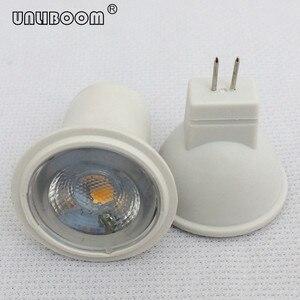 Image 1 - 3W SMD LED MR11 GU4 작은 스포트 라이트 240LM 3LED 2835 직경 35MM 12V AC/DC 및 24V DC LED 컵 빛
