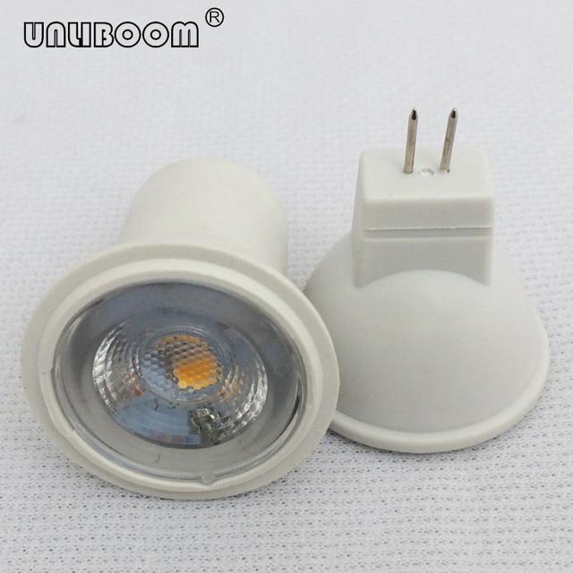 3W SMD LED MR11 GU4 작은 스포트 라이트 240LM 3LED 2835 직경 35MM 12V AC/DC 및 24V DC LED 컵 빛