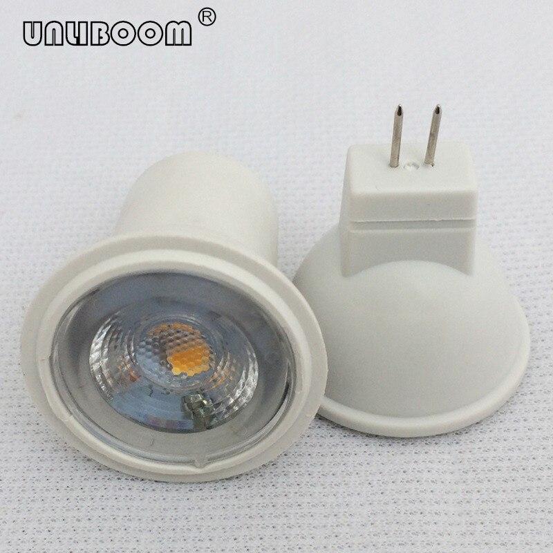 3W SMD LED MR11 GU4 pequeño reflector 240LM 3leds 2835 diámetro 35MM 12V CA/CC y 24V CC LED taza de luz