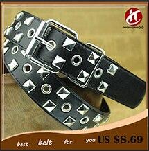 Brand new 2014 women designer belts Black Metal Pyramid Studded Leather Belt for Women dress luxury Punk Rock free shipping