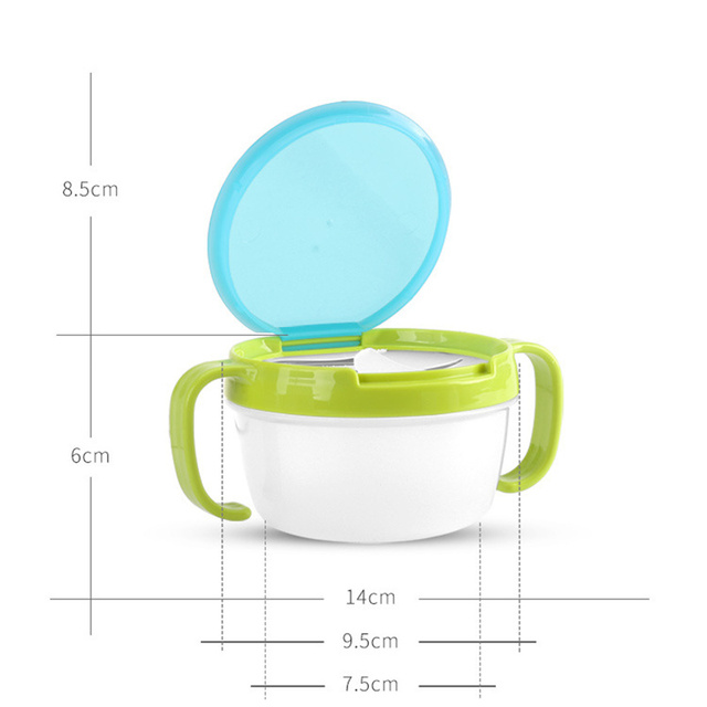 Baby's Anti-Spill Snacks Bowl