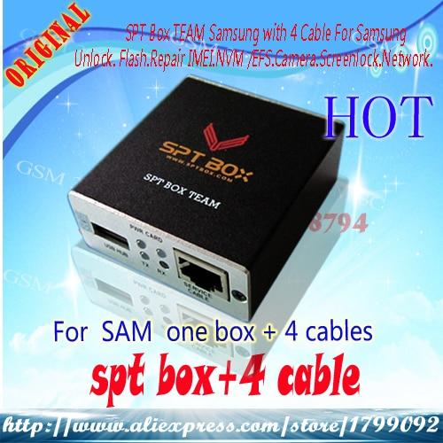 Original Spt Box For Samsung S5 unlock, flash, repair IMEI, NVM, camera,  network etc(3 cable) - BR Autos Store