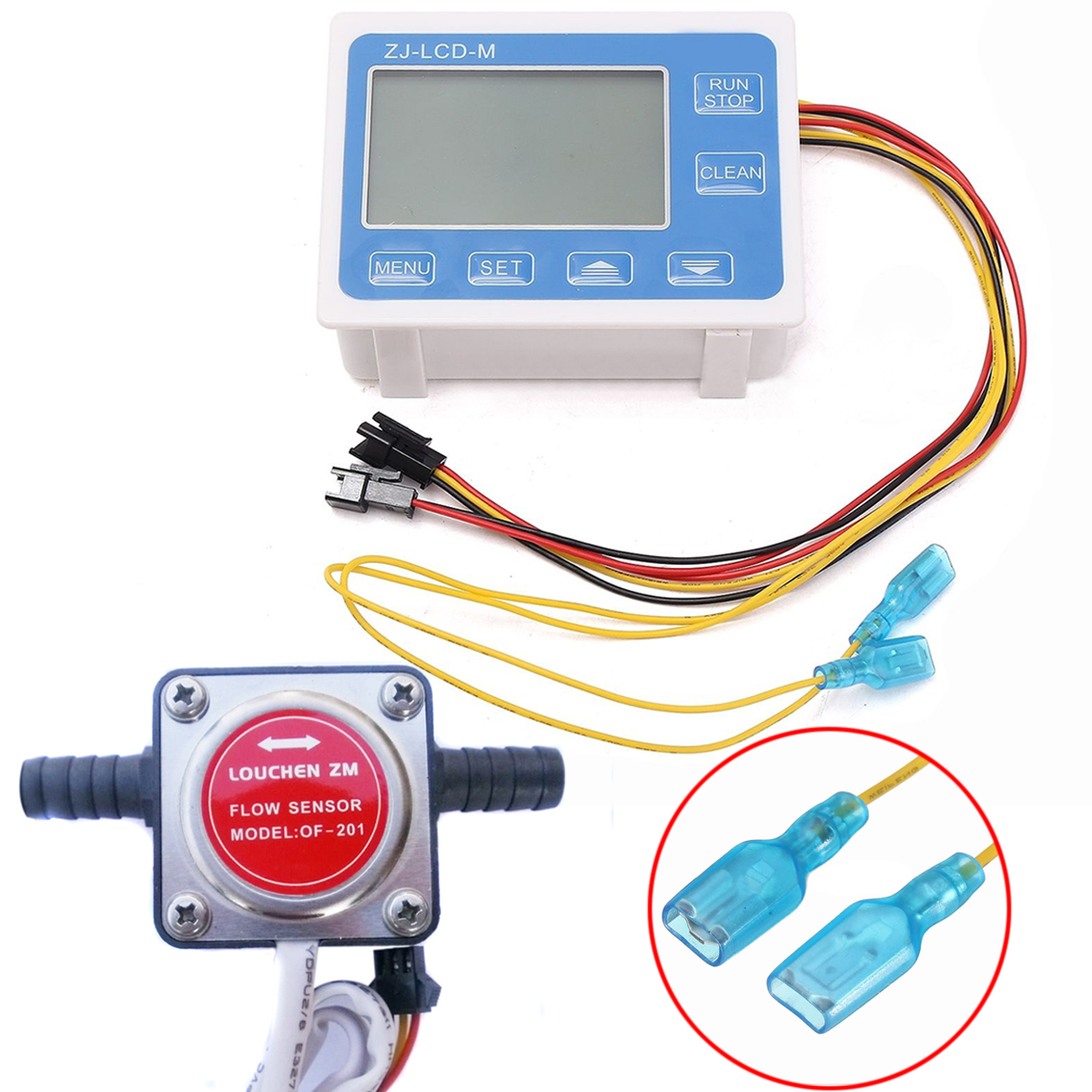 LCD Digital Fuel Oil Flow Meter Flowmeter With 13mm Gasoline Gear Flow Sensor 0-10LPM Mayitr lcd digital fuel oil flow meter flowmeter with 13mm gasoline gear flow sensor 0 10lpm