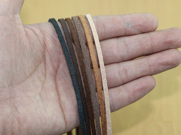 Basehome 1meter Lot 3mm Genuine Leather Bracelet Findings