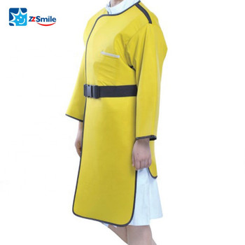 CE Approved Dental X-ray Protective PA02 Lead Rubber Gown