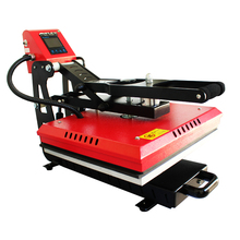 40x60cm Magnetic Auto Clamshell Heat Press Machine for T shirt Printing Hot Stamping Printing Machine Heat Sublimation NO.AP1715