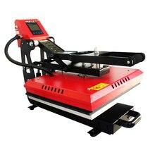 40x60cm Magnetische Auto Clamshell Hitze Presse Maschine für T shirt Druck Heißer Stanzen Druckmaschine Wärme Sublimation KEINE. AP1715