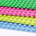 [Bainily] Partículas Grandes Bloques de Construcción de la Placa Base 51*25.5 cm Placa Base 100% Compatible con Legoe Duploes Niños ladrillos Placa Base