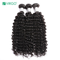 Malaysian Kinky Curly Hair Bundles Human Hair Weave 3 Bundles Remy Natural Hair Pattern Can be Dyed and Bleached Virgo Hair