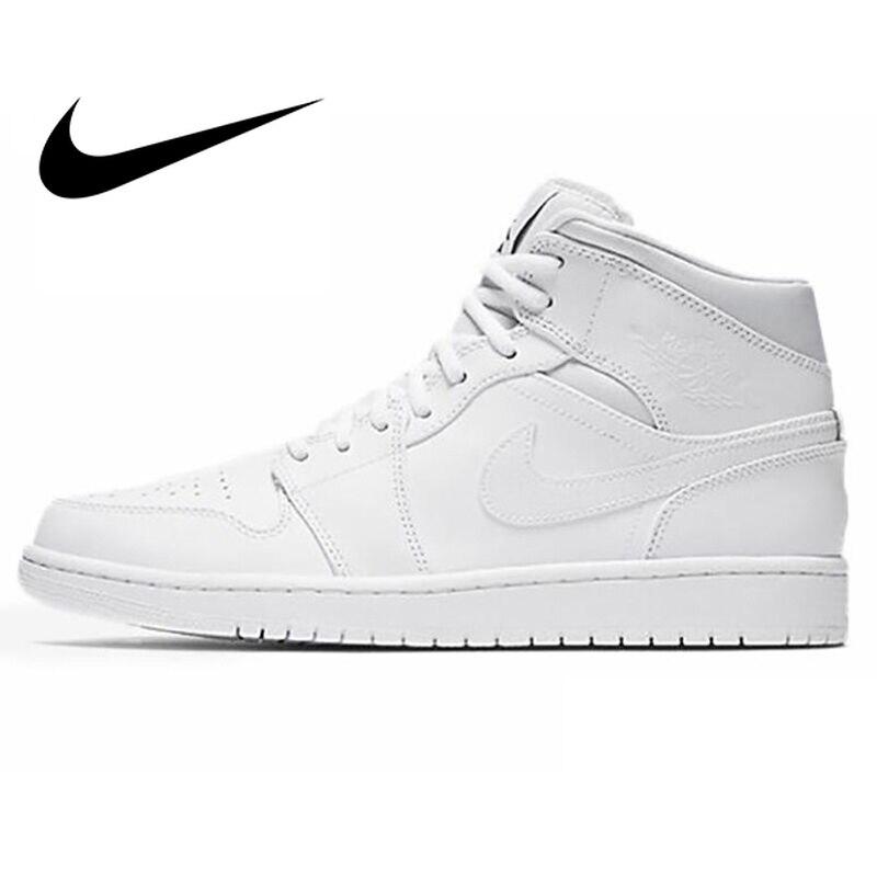 Chaussures de basket-ball en cuir les plus légères JORDAN pour hommes authentique NIKE-chaussures de basket-ball pour hommes