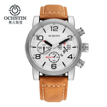 Newest Watches Men Luxury Top Brand OCHSTIN Fashion Men's Big Dial Designer Quartz Watch Male Wristwatch relogio masculino reloj