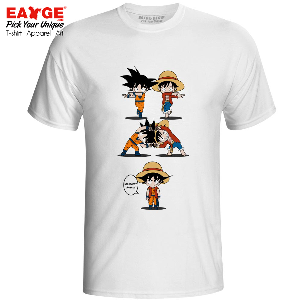I Am Master Luffy T Shirt One Piece Luffy Fusion Dragon Ball Master Roshi T shirt Anime Crossover Funny Design Men Women Tee in T Shirts from Men 39 s Clothing