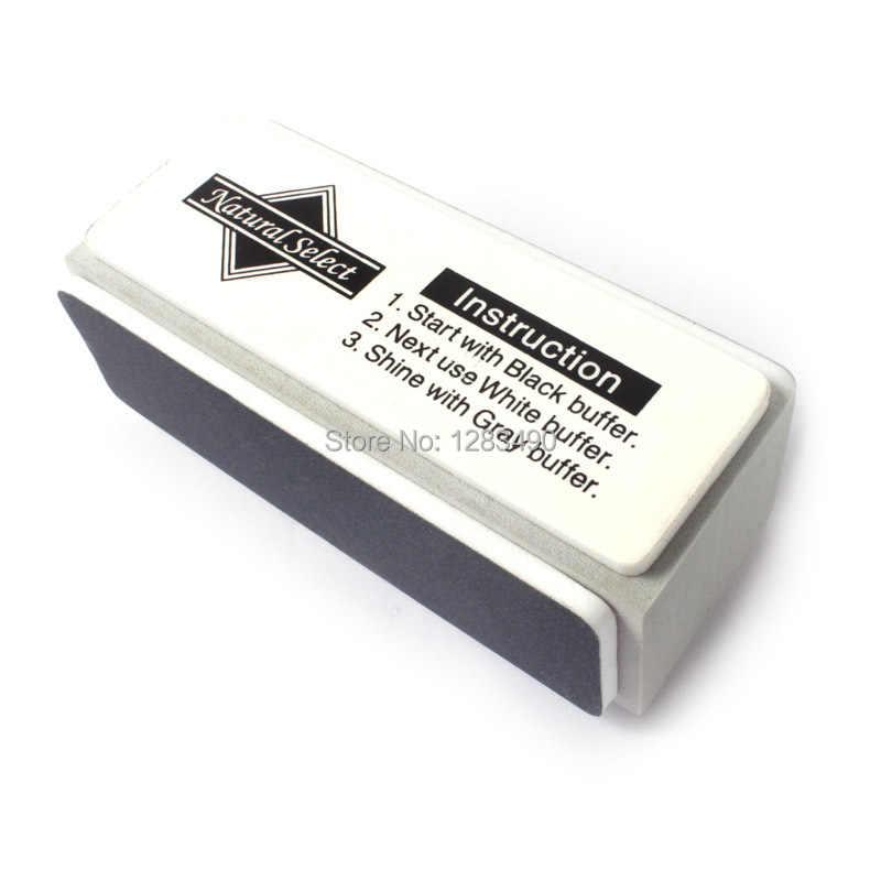 Professionelle Neue Mini 3 Ways Nagelpuffer Block und Dateien Glänzende Puffer-polier Glock Für Nail art Maniküre