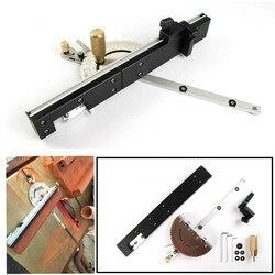 Precyzyjny wskaźnik kątowy do obróbki drewna i pozycjoner skrzynkowy z regulowaną obrotową piłą stołową narzędzie do majsterkowania w Zestawy narzędzi ręcznych od Narzędzia na