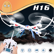 RC Toy UFO JJRC H16 Dron 4Ch 6Axis Remote Control Quadcopter With Camera Helicopters LED Drone